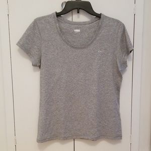 Nike fit dry gray shirt